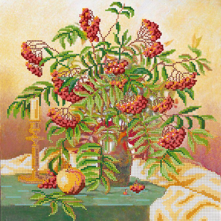 Набор для вышивания грозди рябины